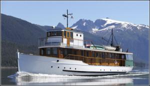 Alaska yacht charters - MV Discovery