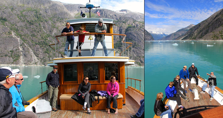 Alaska, glacier, tour, cruise, small boat, small ship, inside passage, yacht charters