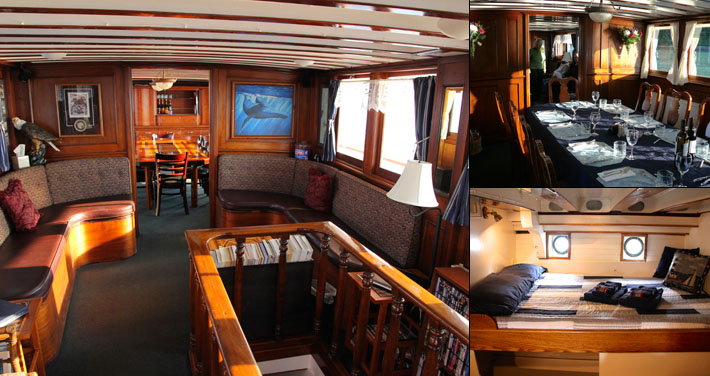 Alaska Yacht Charters Small Ship Cruise Discovery Inside Passage