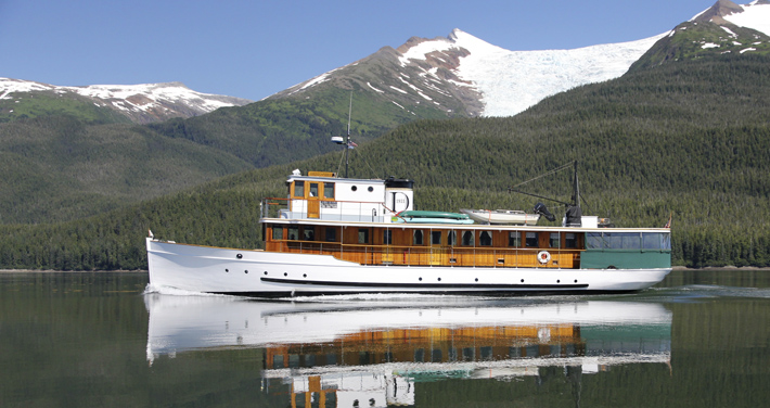 Alaska yacht charters | Alaska small cruise ship | Classic yacht MV Discovery on Alaska Inside Passage cruise