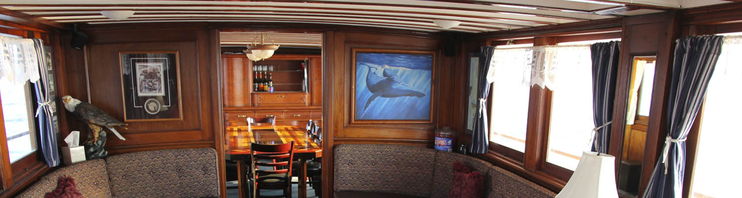 Interior view | Alaska yacht charters | MV Discovery adventure cruises