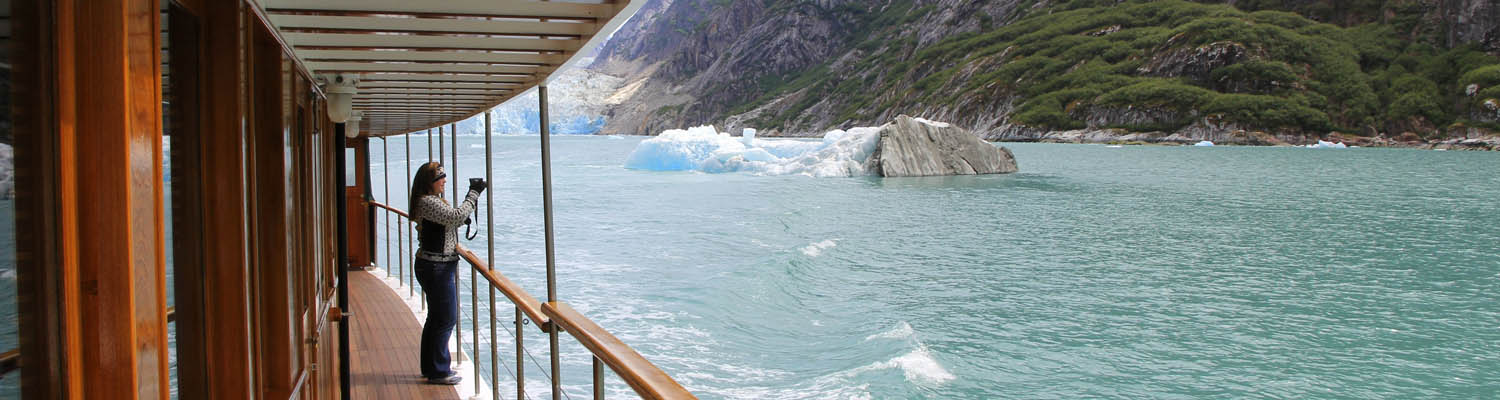 Alaska glacier cruising | Tracy Arm near Juneau
