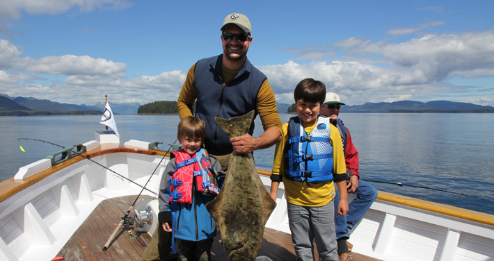 Alaska halibut fishing