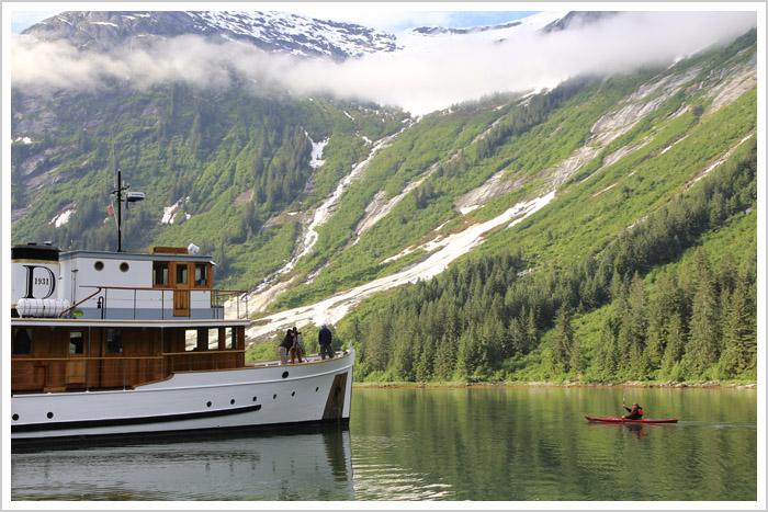 Kayaking in Fords Terror, Alaska