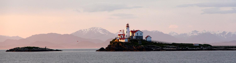 Canada inside passage cruises small ship cruise lighthouse