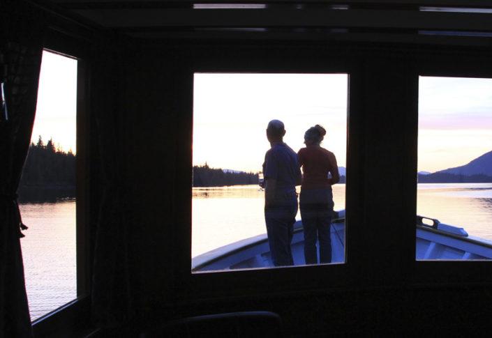 Sunset alaska yacht charters MV Discovery